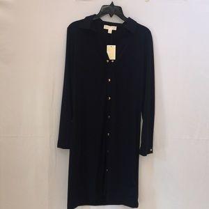 NWT Navy Michael Kors Women's Dress - Size Large
